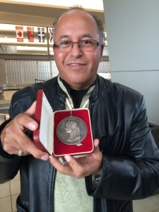 Treaty #4 Medal